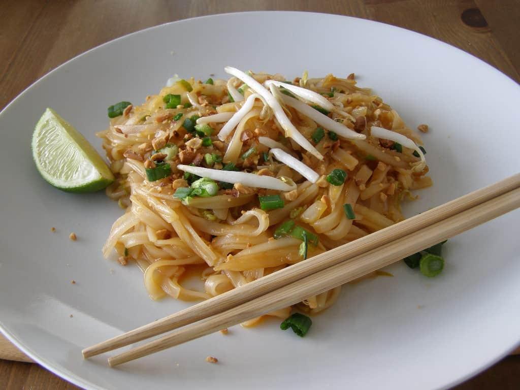 Easy Pad Thai  Easy Vegan Pad Thai from Food Love Veggies Save The Day