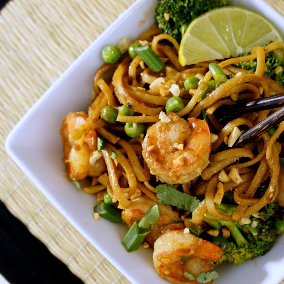 Easy Pad Thai  Easy Shrimp Pad Thai I Wash You Dry