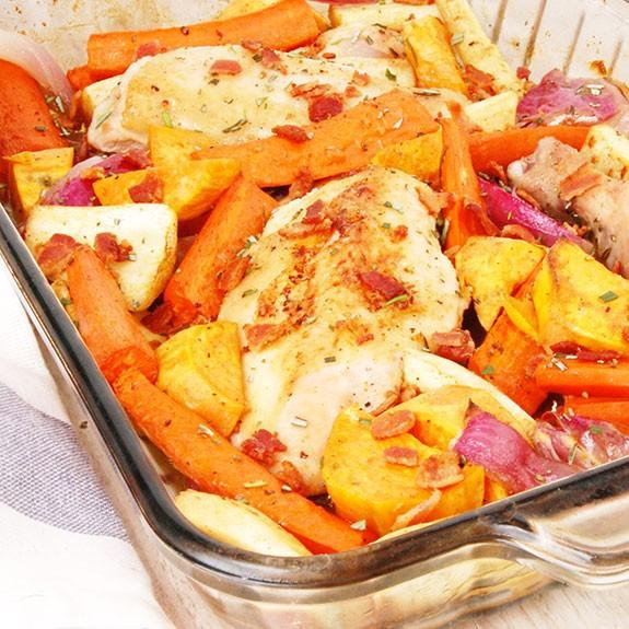 Easy Paleo Dinner  Easy e Dish Paleo Chicken Dinner