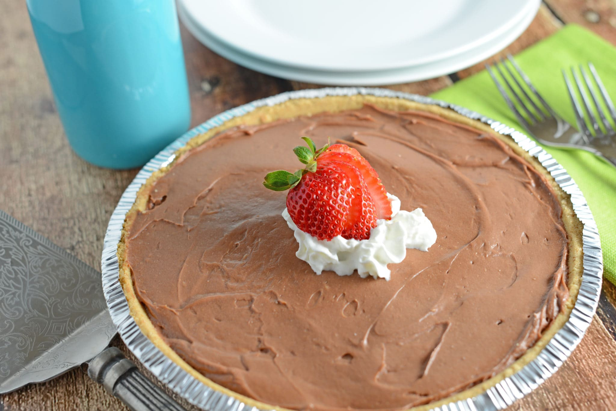 Easy Party Desserts  Creamy No Bake Chocolate Cheesecake Savory Experiments