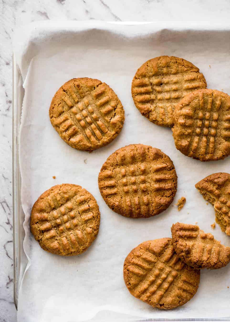 Easy Peanut Butter Cookies  World s Best Easy Peanut Butter Cookies