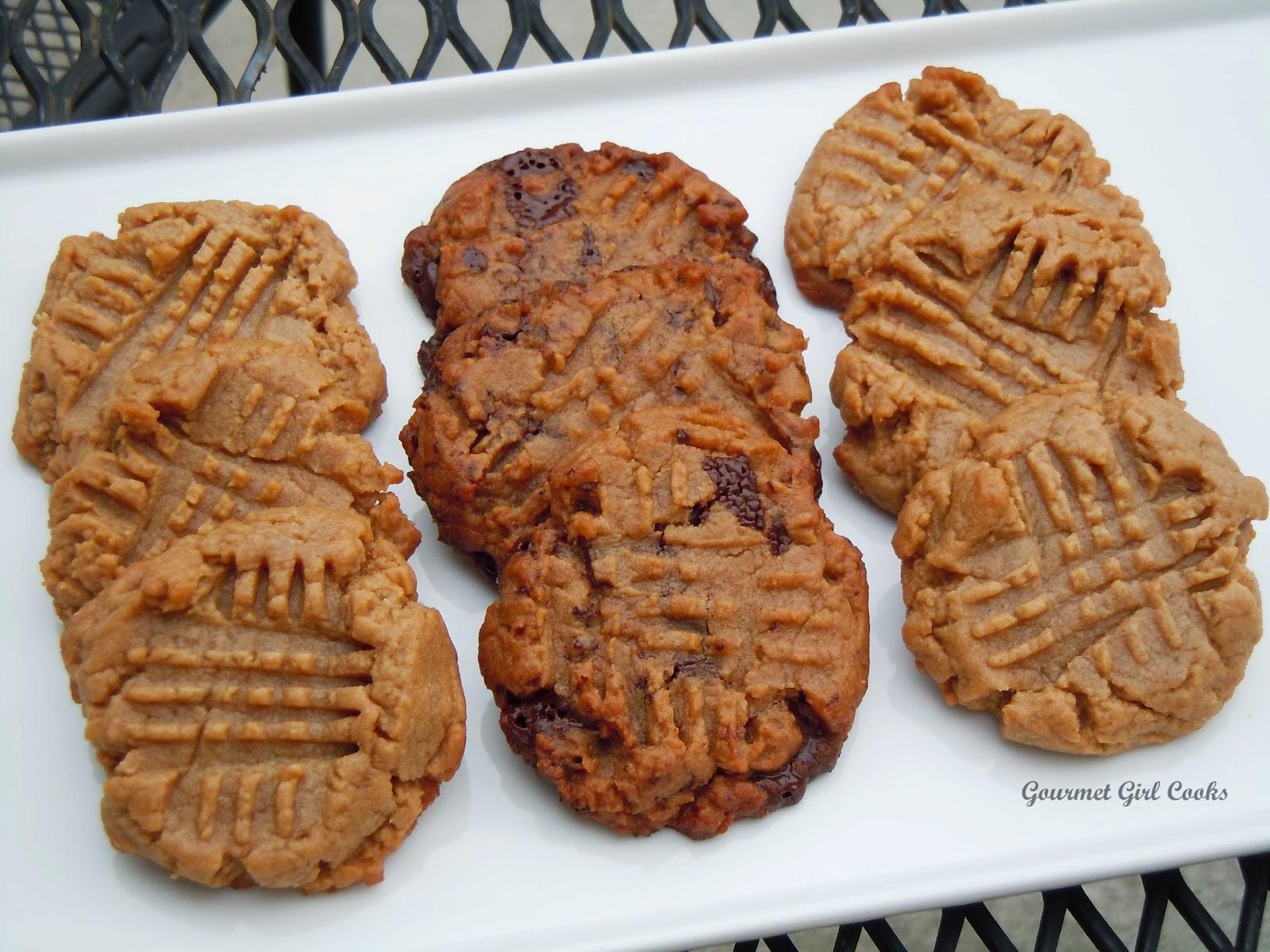 Easy Peanut Butter Cookies  Gourmet Girl Cooks Easy Peanut Butter Cookies