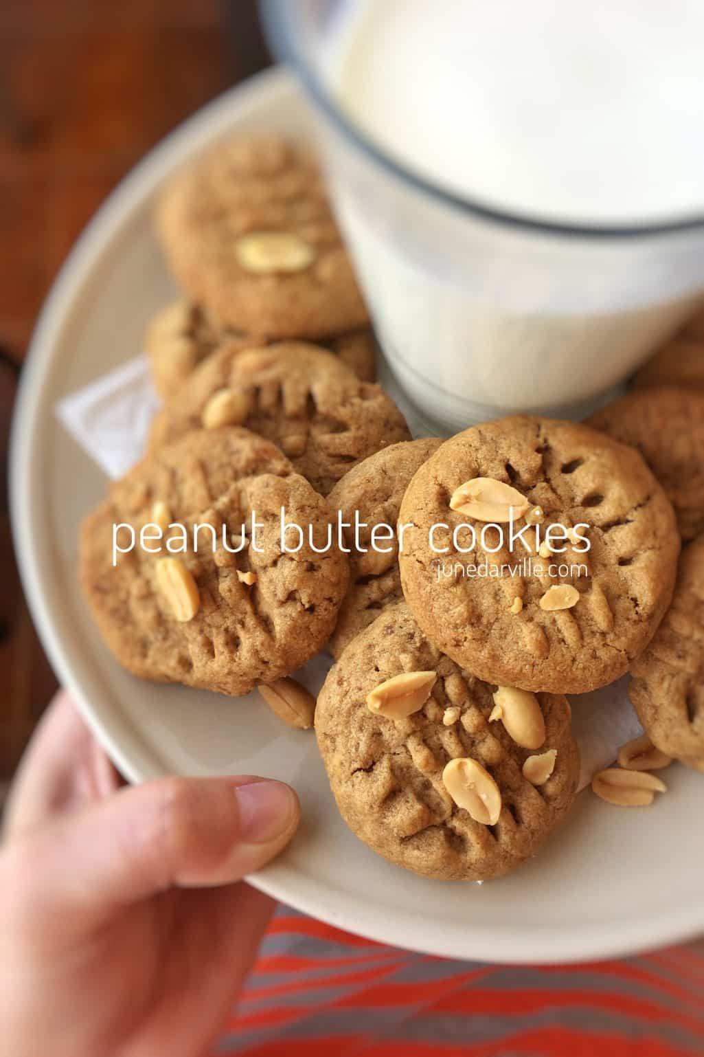 Easy Peanut Butter Cookies  Easy Peanut Butter Cookies Recipe