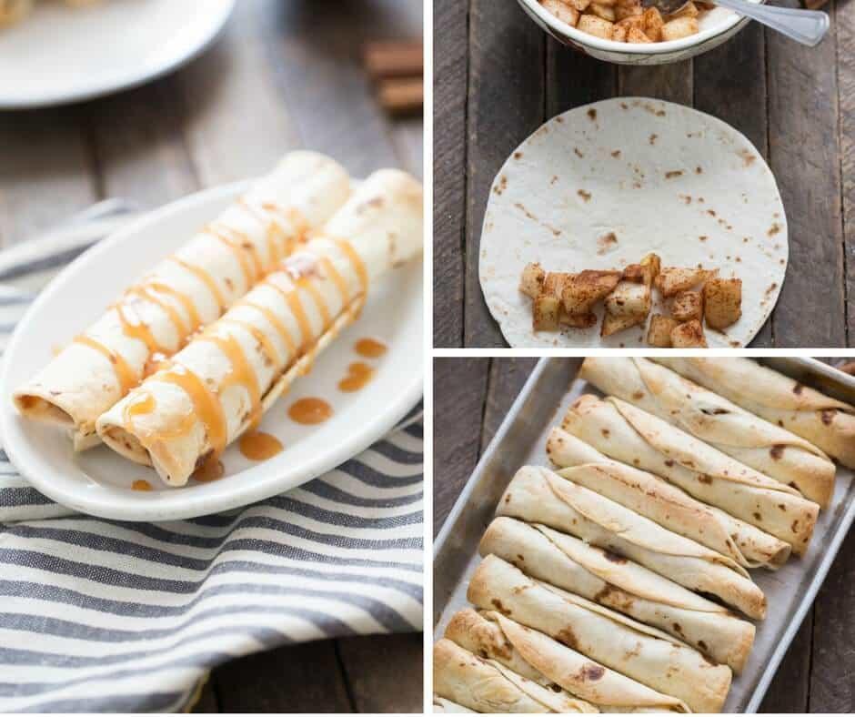 Easy Pear Dessert  Easy Pear Dessert Taquitos LemonsforLulu