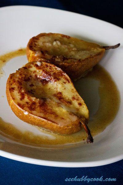 Easy Pear Dessert  Baked Pears