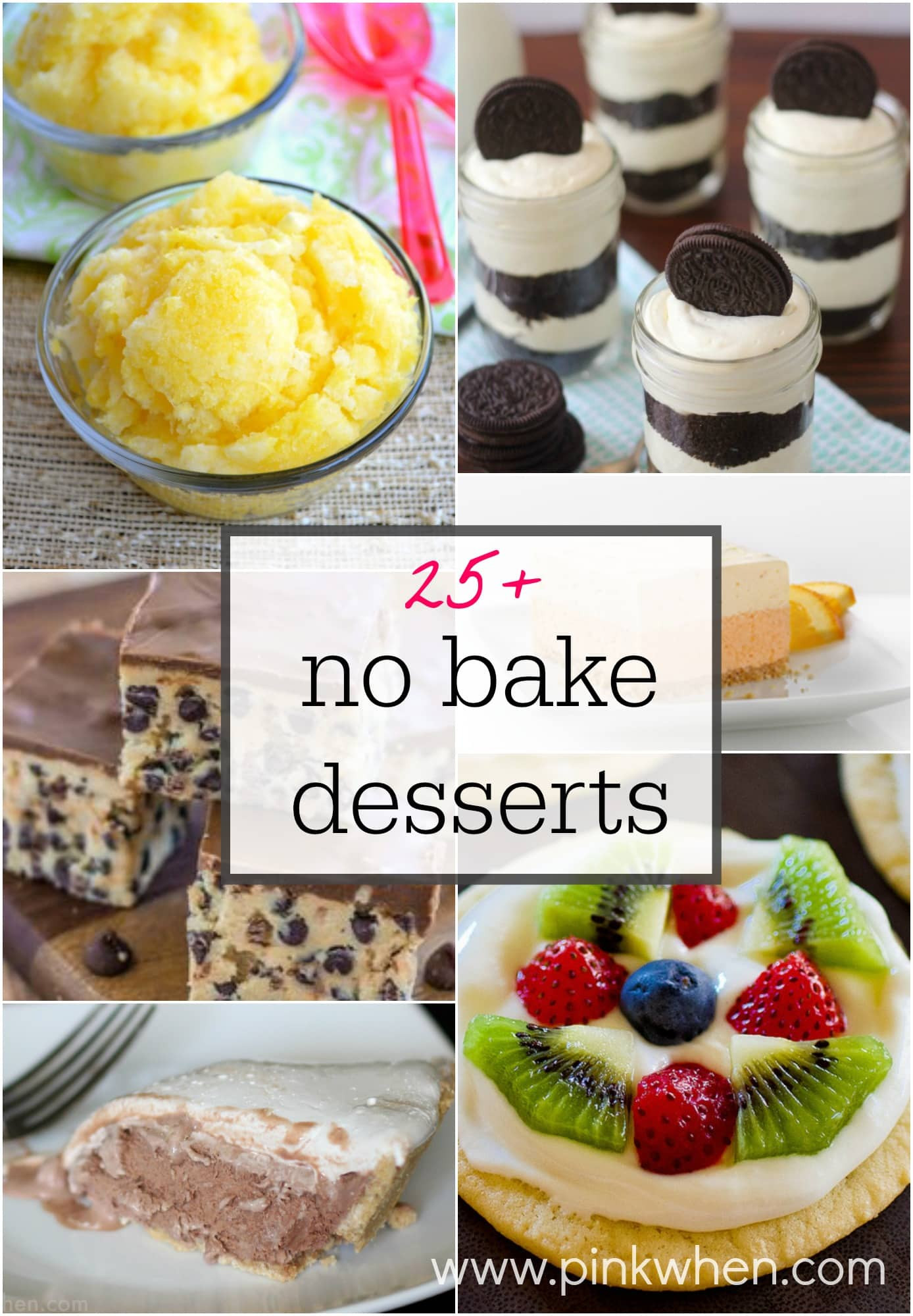 Easy Picnic Desserts  25 No Bake Dessert Ideas
