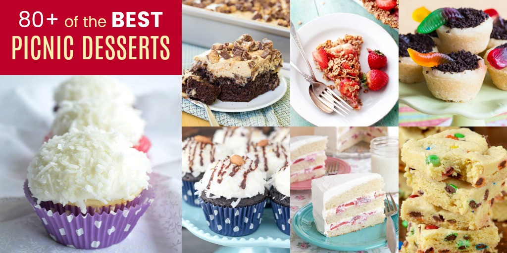 Easy Picnic Desserts  Over 80 Recipes for Picnic Desserts Cupcakes & Kale Chips