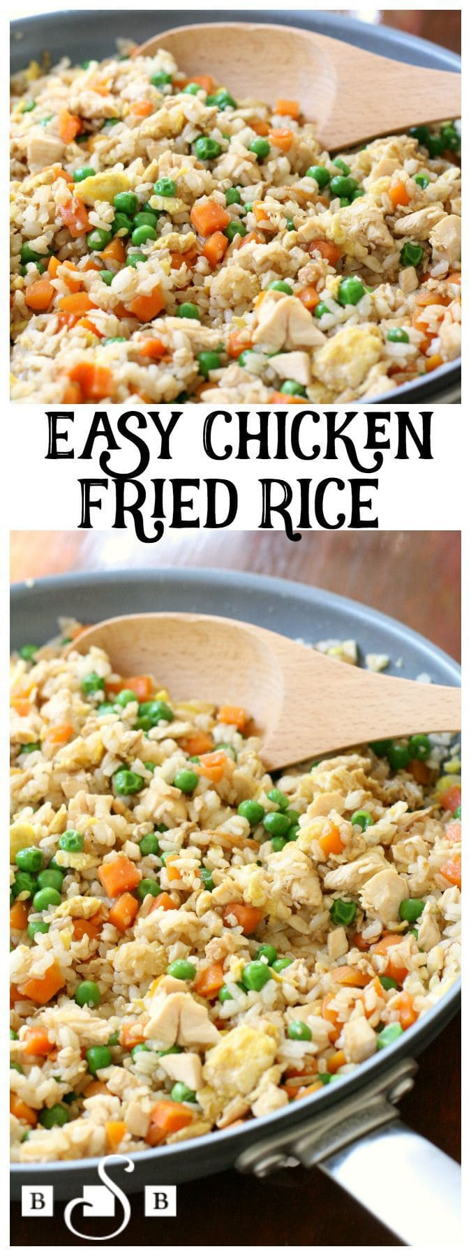 Easy Pork Fried Rice  EASY CHICKEN FRIED RICE Butter with a Side of Bread