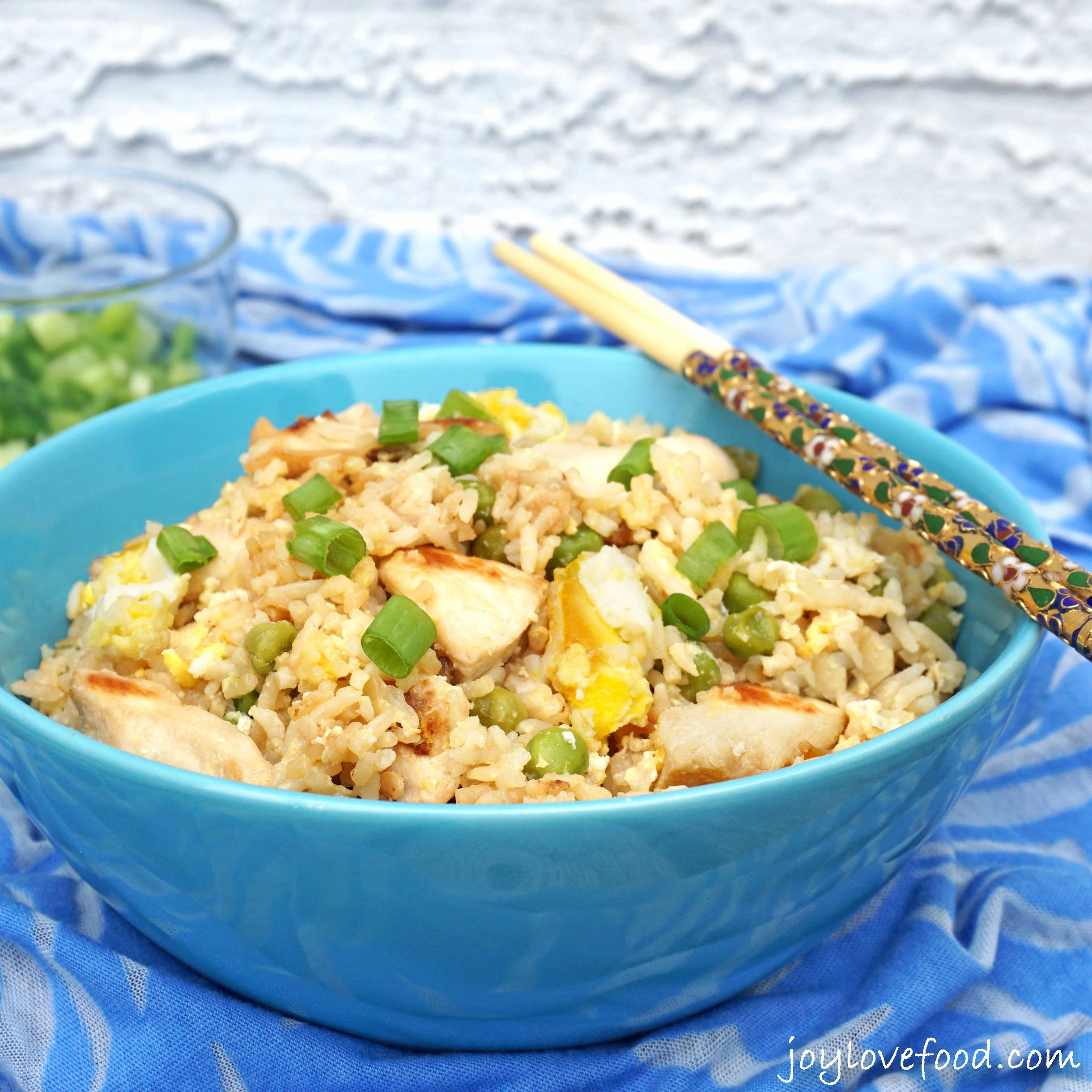 Easy Pork Fried Rice  Easy Chicken Fried Rice Joy Love Food
