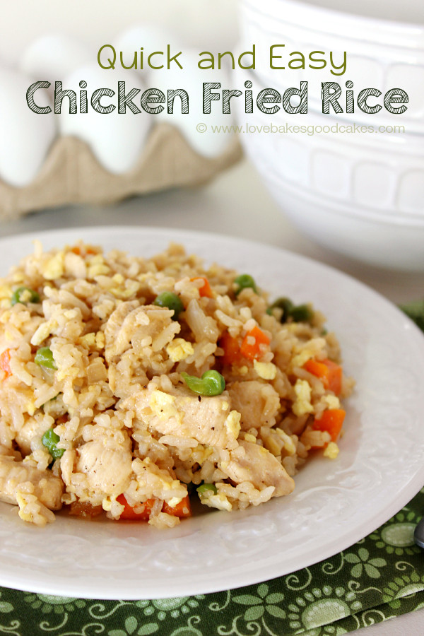 Easy Pork Fried Rice  Bacon & Egg Breakfast Fried Rice
