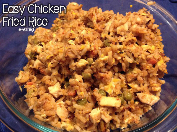 Easy Pork Fried Rice  Easy Chicken Fried Rice Recipe From Val s Kitchen