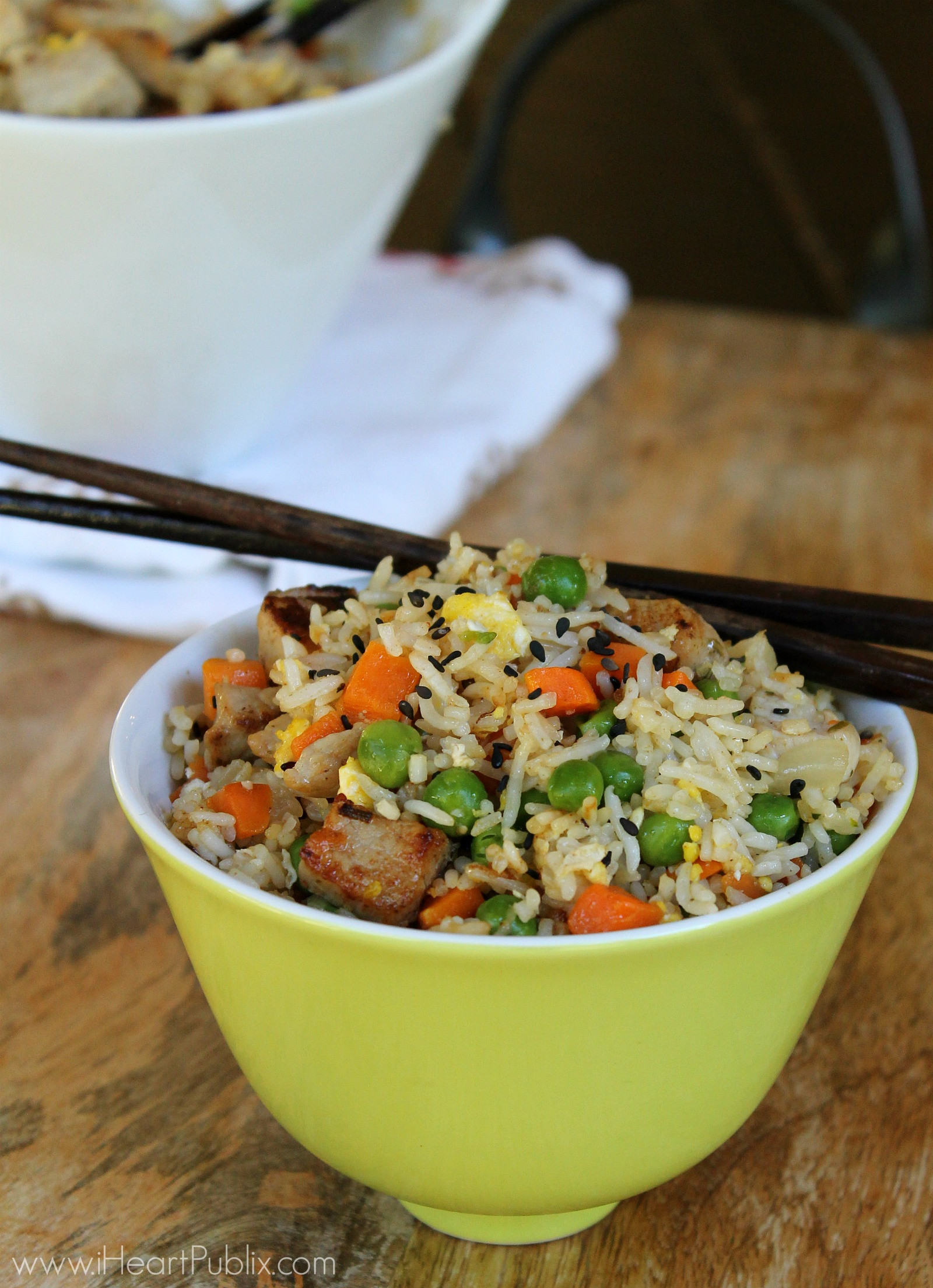 Easy Pork Fried Rice  Recipes I Heart Publix