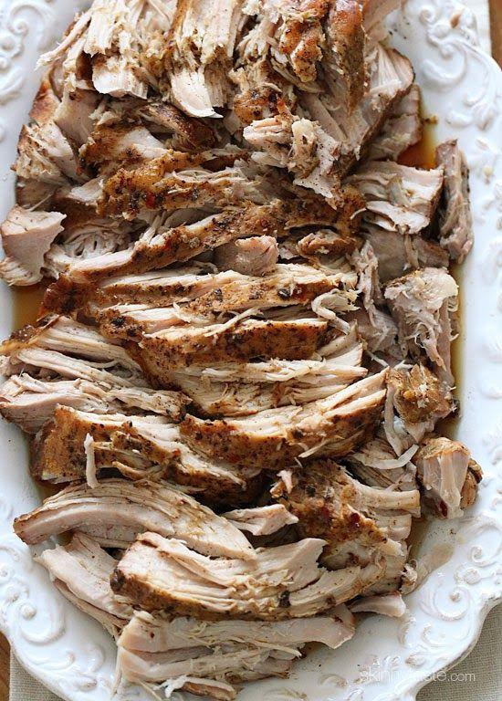 Easy Pork Shoulder Roast Slow Cooker Recipes  Crock Pot Balsamic Pork Roast Recipe