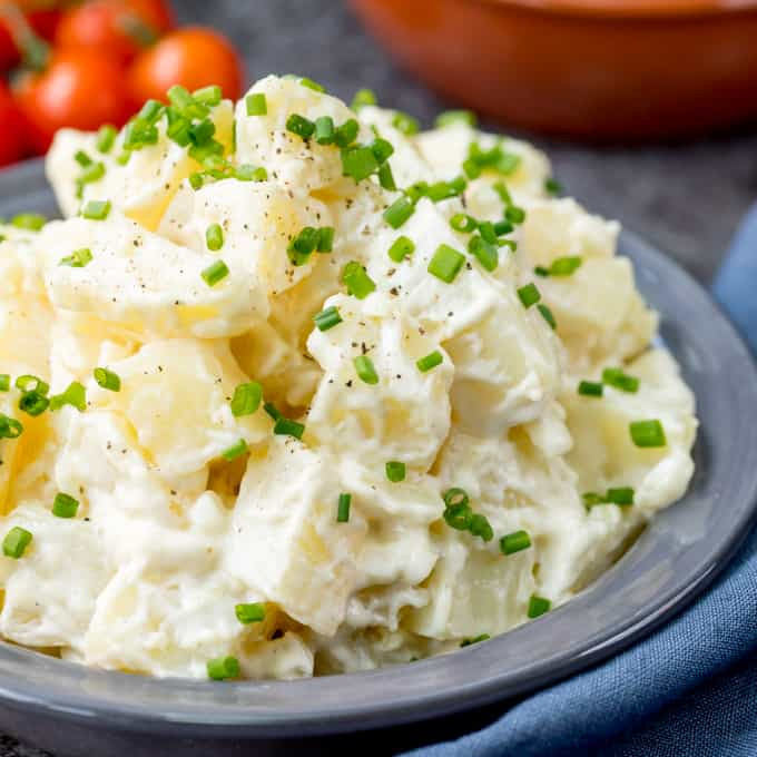 Easy Potato Salad  Easy Creamy Potato Salad Nicky s Kitchen Sanctuary
