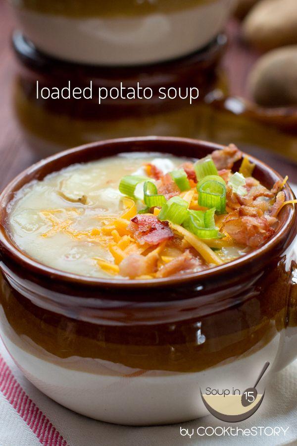 Easy Potato Soup Recipe  The 25 best Easy potato soup ideas on Pinterest