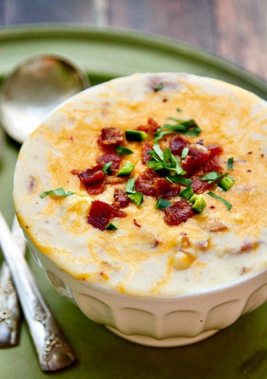 Easy Potato Soup Recipe  13 Potato Soup Recipes Easy Homemade Potato Soups—Delish