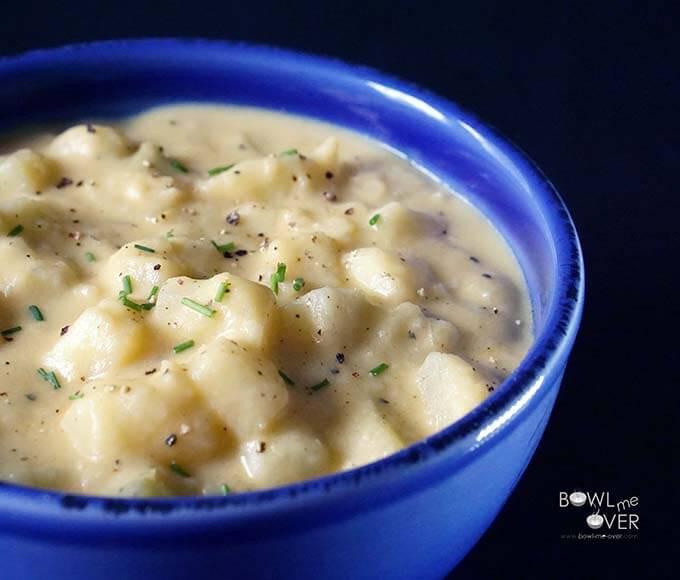 Easy Potato Soup Recipes  easy potato soup