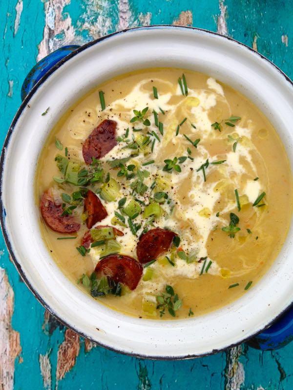 Easy Potato Soup Recipes  Easy Potato Leek Soup Recipe • CiaoFlorentina