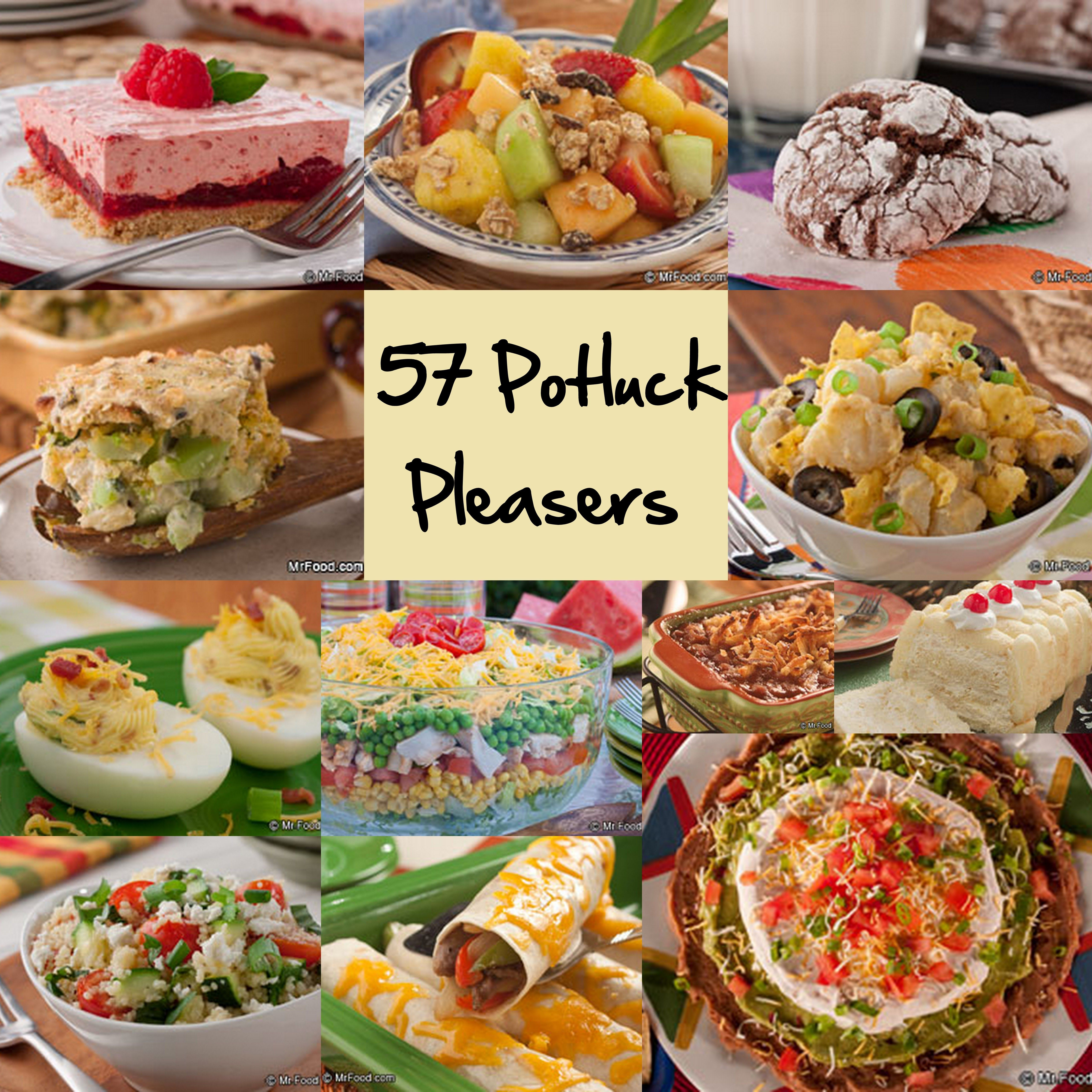 Easy Potluck Main Dishes  Easy Potluck Recipes 58 Potluck Ideas