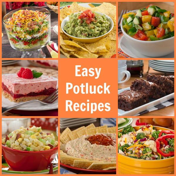 Easy Potluck Main Dishes  Easy Potluck Recipes 58 Party Pleasers