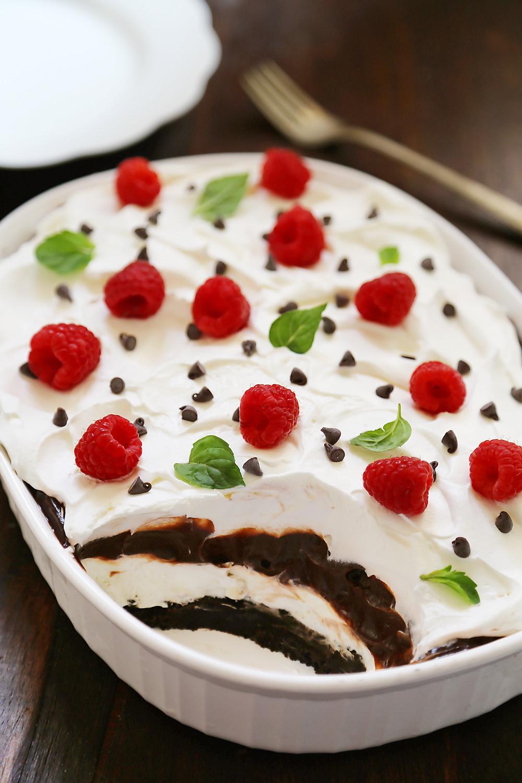 Easy Pudding Desserts  No Bake Chocolate Layer Dessert