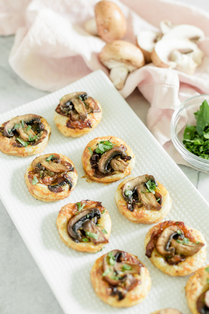 Easy Puff Pastry Appetizers  Easy Appetizers Mini Mushroom Puff Pastry Bites