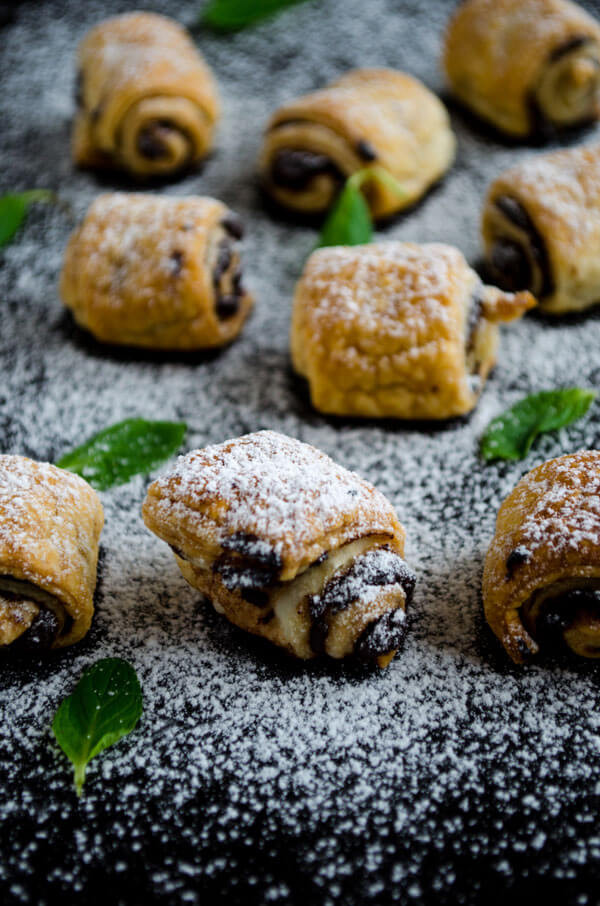 Easy Puff Pastry Desserts  Chocolate Puff Pastry Rolls Give Recipe