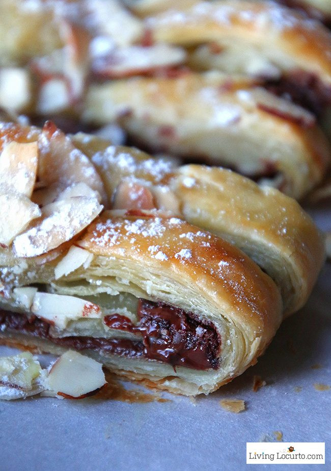 Easy Puff Pastry Desserts  Chocolate Braid Recipe