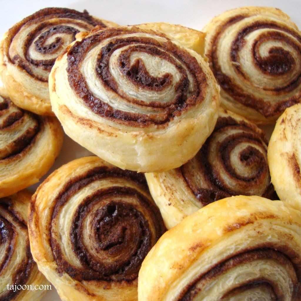 Easy Puff Pastry Desserts  Chocolate Swirls easy last minute puff pastry desserts