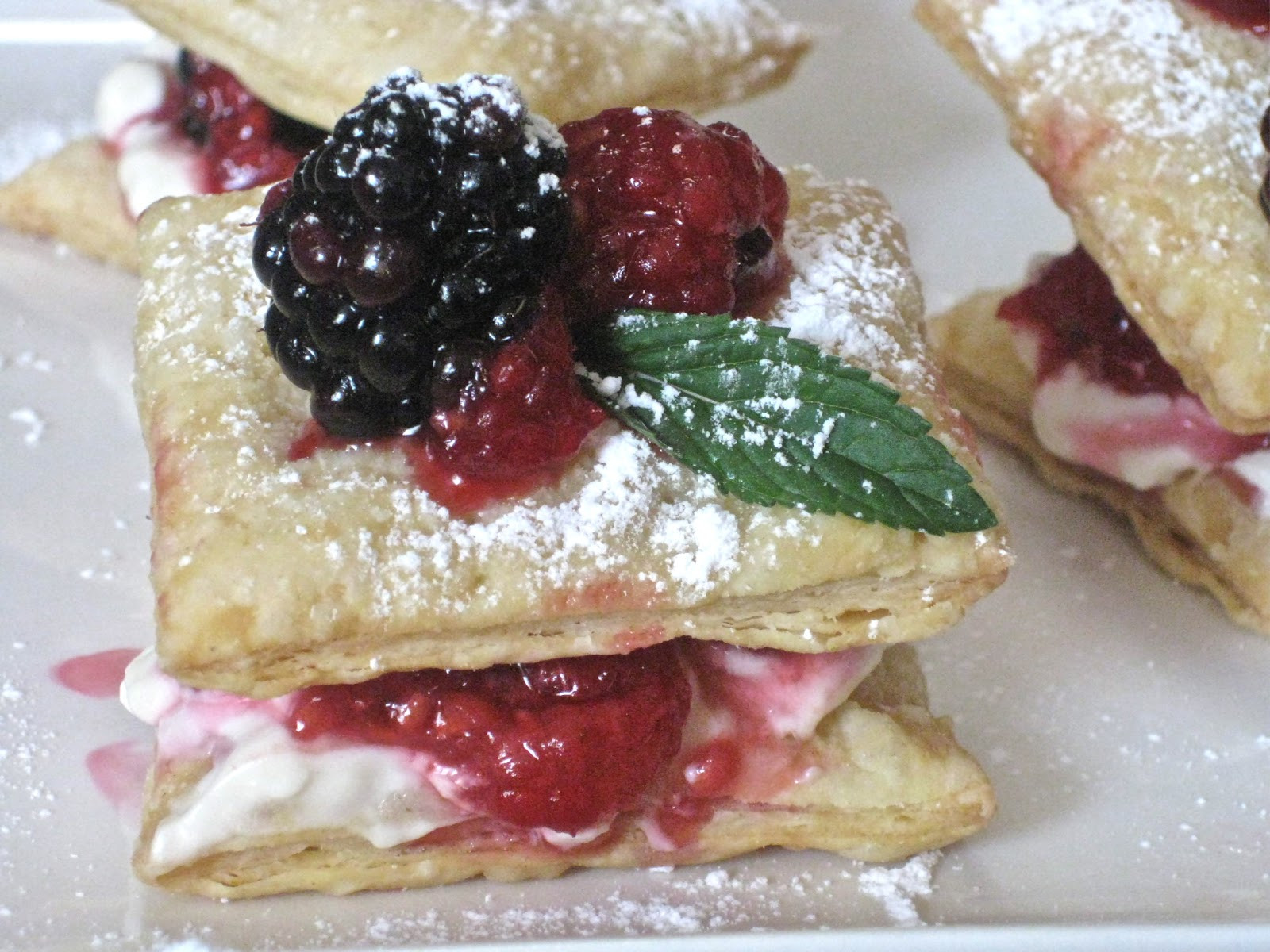 Easy Puff Pastry Desserts  Flavors of the Sun Puff Pastry and an Easy Summer Dessert