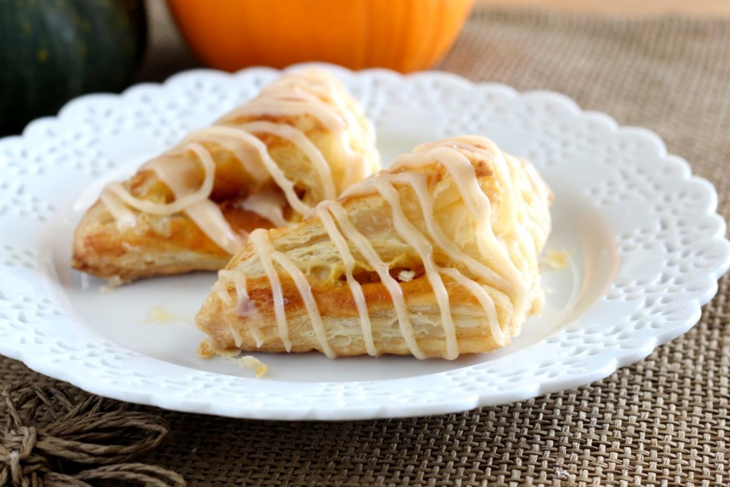 Easy Puff Pastry Desserts  Pumpkin Puff Pastry Turnovers Chocolate with Grace