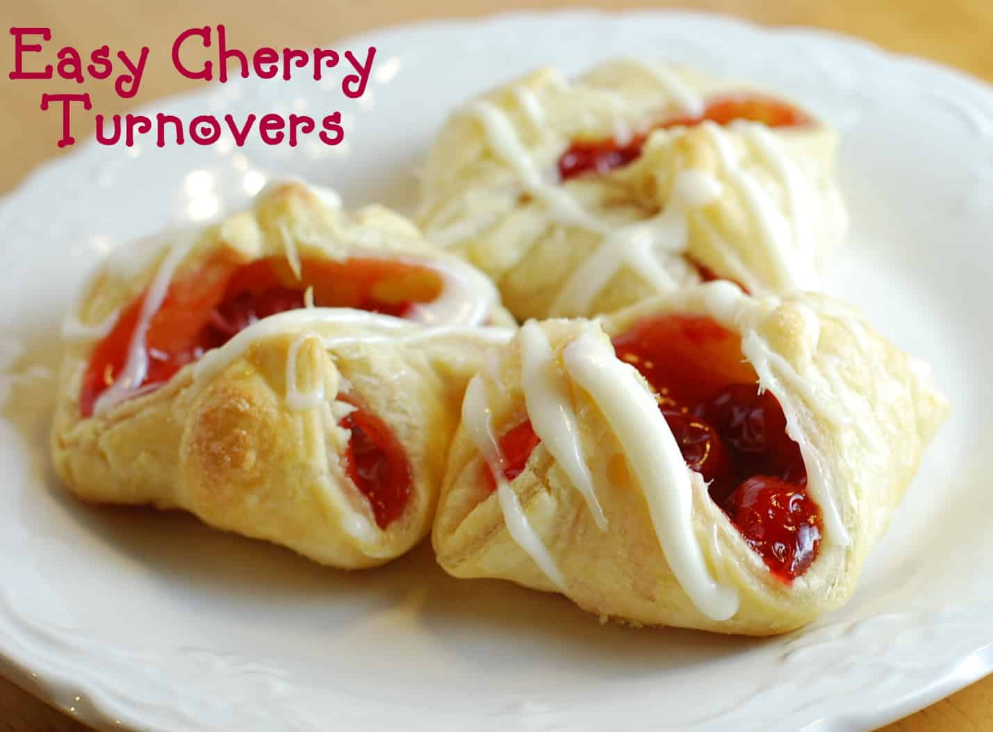 Easy Puff Pastry Desserts  Easy Cherry Turnovers with Puff Pastry