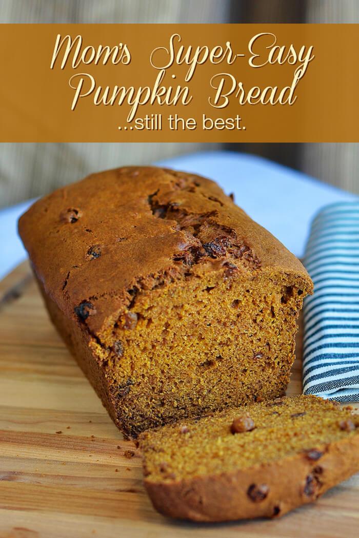 Easy Pumpkin Bread Recipe With Canned Pumpkin  The Best Pumpkin Bread Rock Recipes