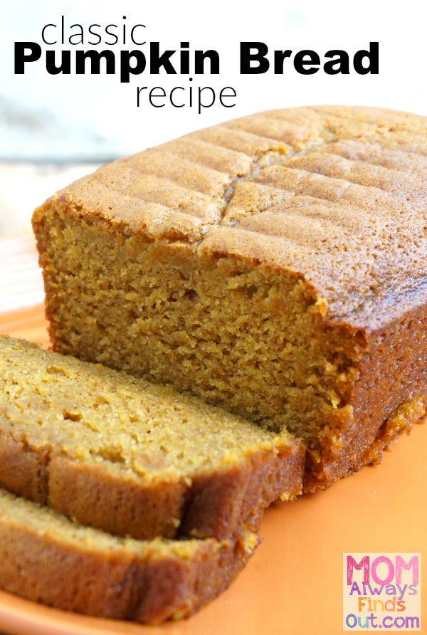 Easy Pumpkin Bread Recipe With Canned Pumpkin  25 best ideas about Easy pumpkin bread on Pinterest