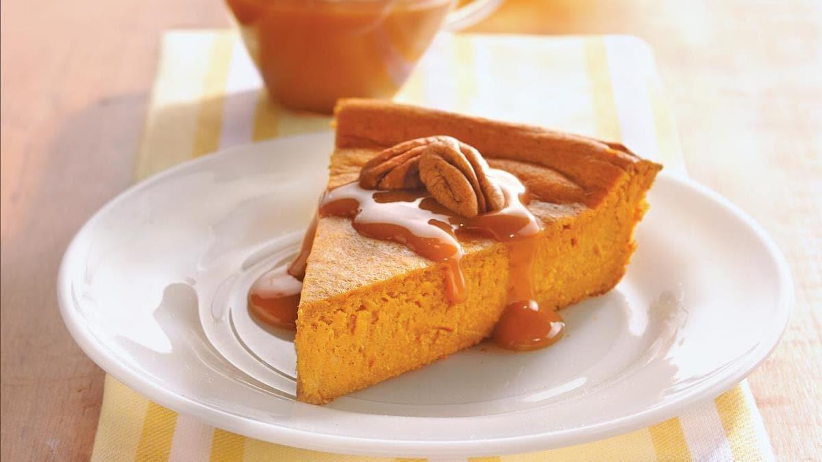 Easy Pumpkin Cheesecake Recipe  Impossibly Easy Pumpkin Cheesecake Recipe