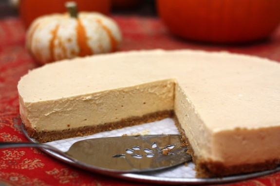 Easy Pumpkin Cheesecake Recipe  easy cheesecake recipe