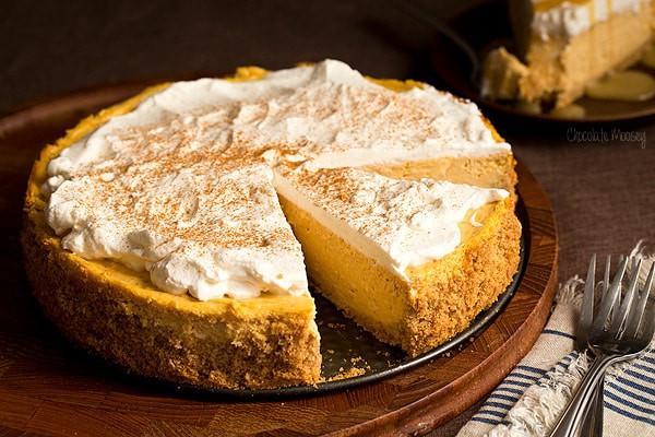 Easy Pumpkin Cheesecake Recipe  easy pumpkin cheesecake recipe