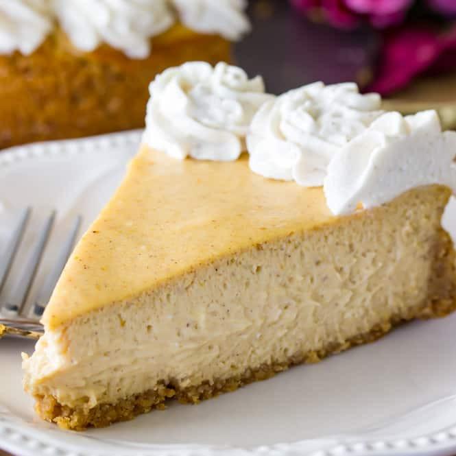 Easy Pumpkin Cheesecake Recipe  simple pumpkin cheesecake recipe