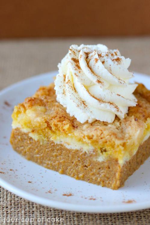 Easy Pumpkin Desserts  pumpkin dessert recipes