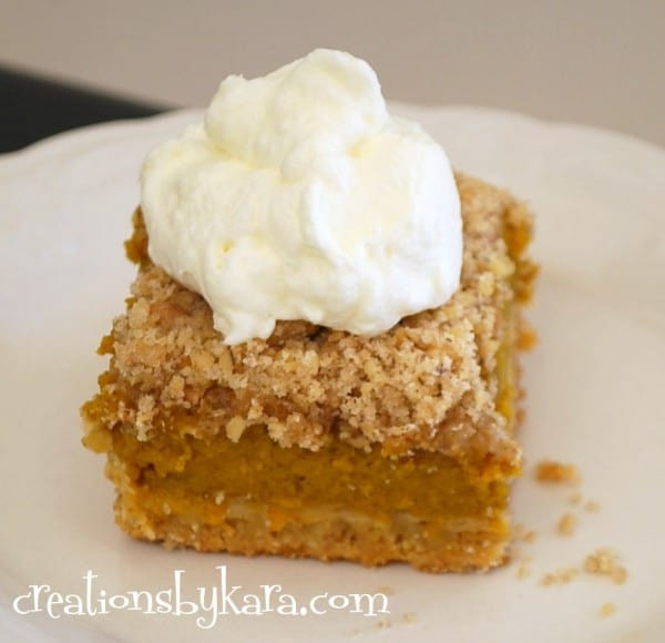 Easy Pumpkin Desserts  Fast and Easy Pumpkin Dessert