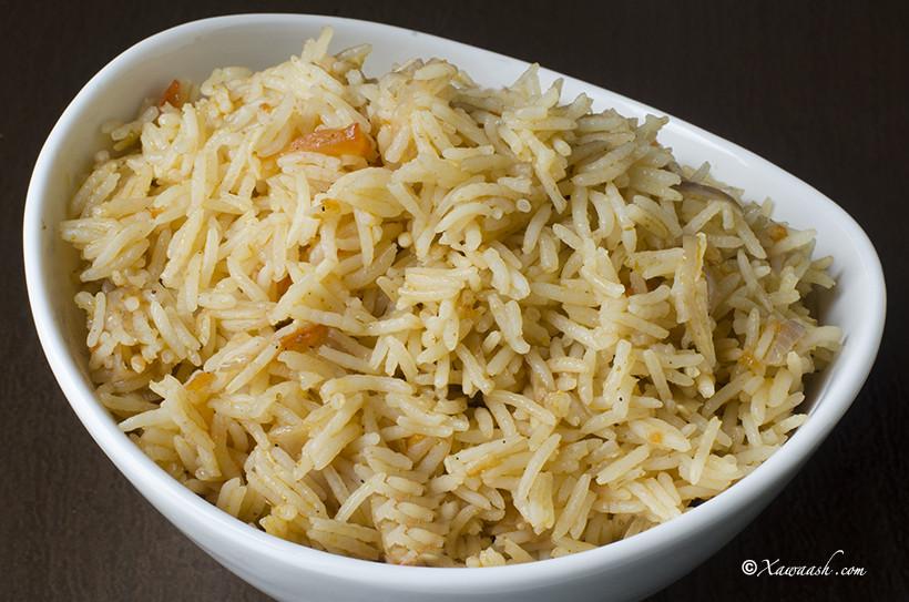 Easy Rice Pilaf  Easy Rice Pilaf Bariis Maraq Fudud أرز بيلاف سهل