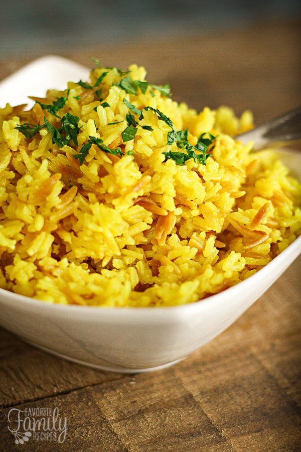 Easy Rice Pilaf  Easy Stovetop Rice Pilaf with Orzo