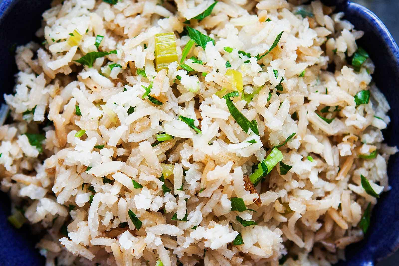 Easy Rice Pilaf  Easy Rice Pilaf Recipe