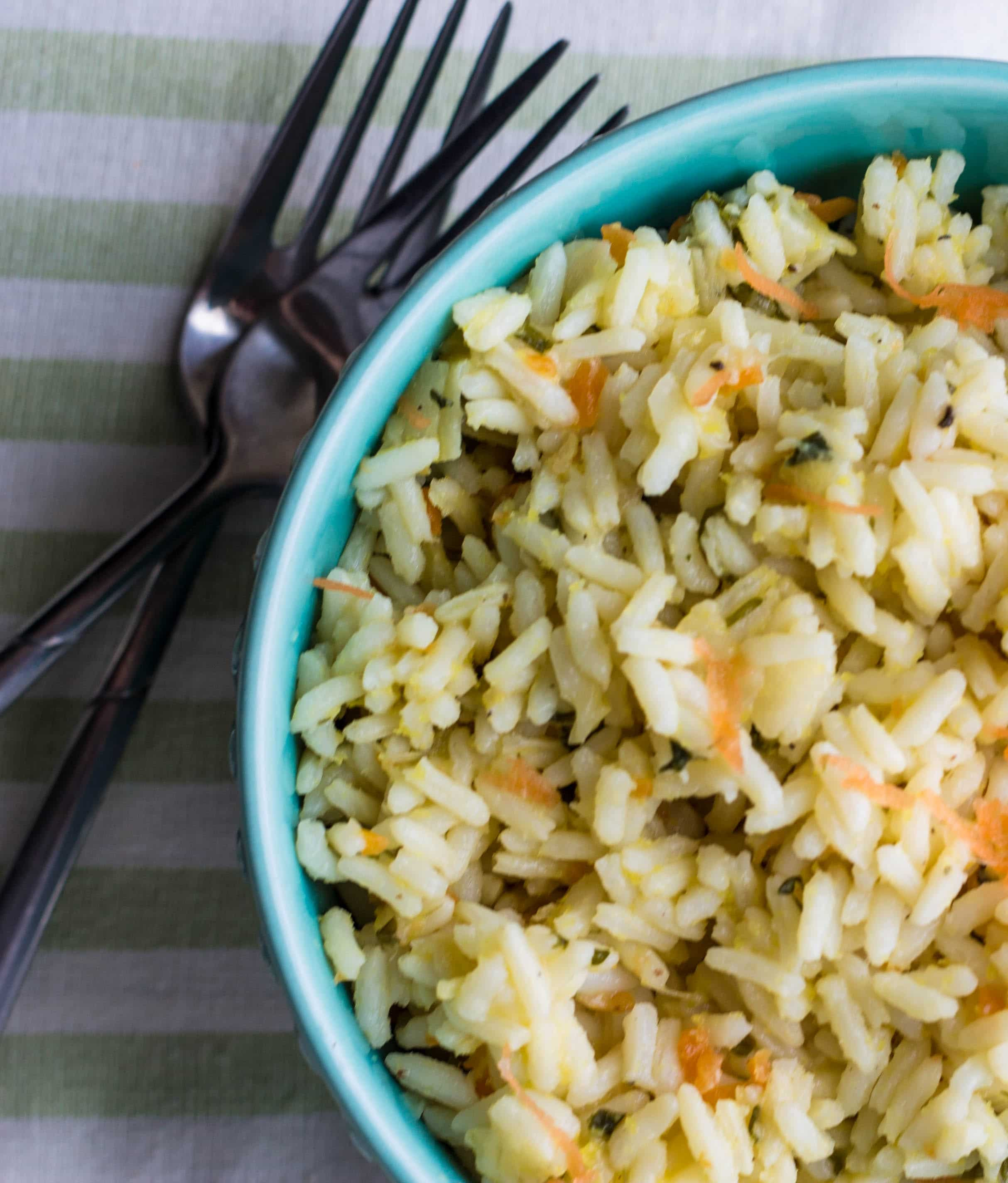 Easy Rice Pilaf  Ve arian Rice Pilaf Erren s Kitchen