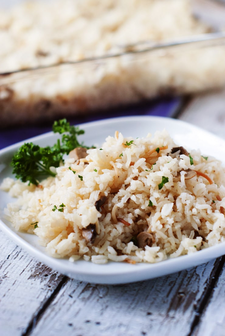 Easy Rice Pilaf  Easy Baked Rice Pilaf