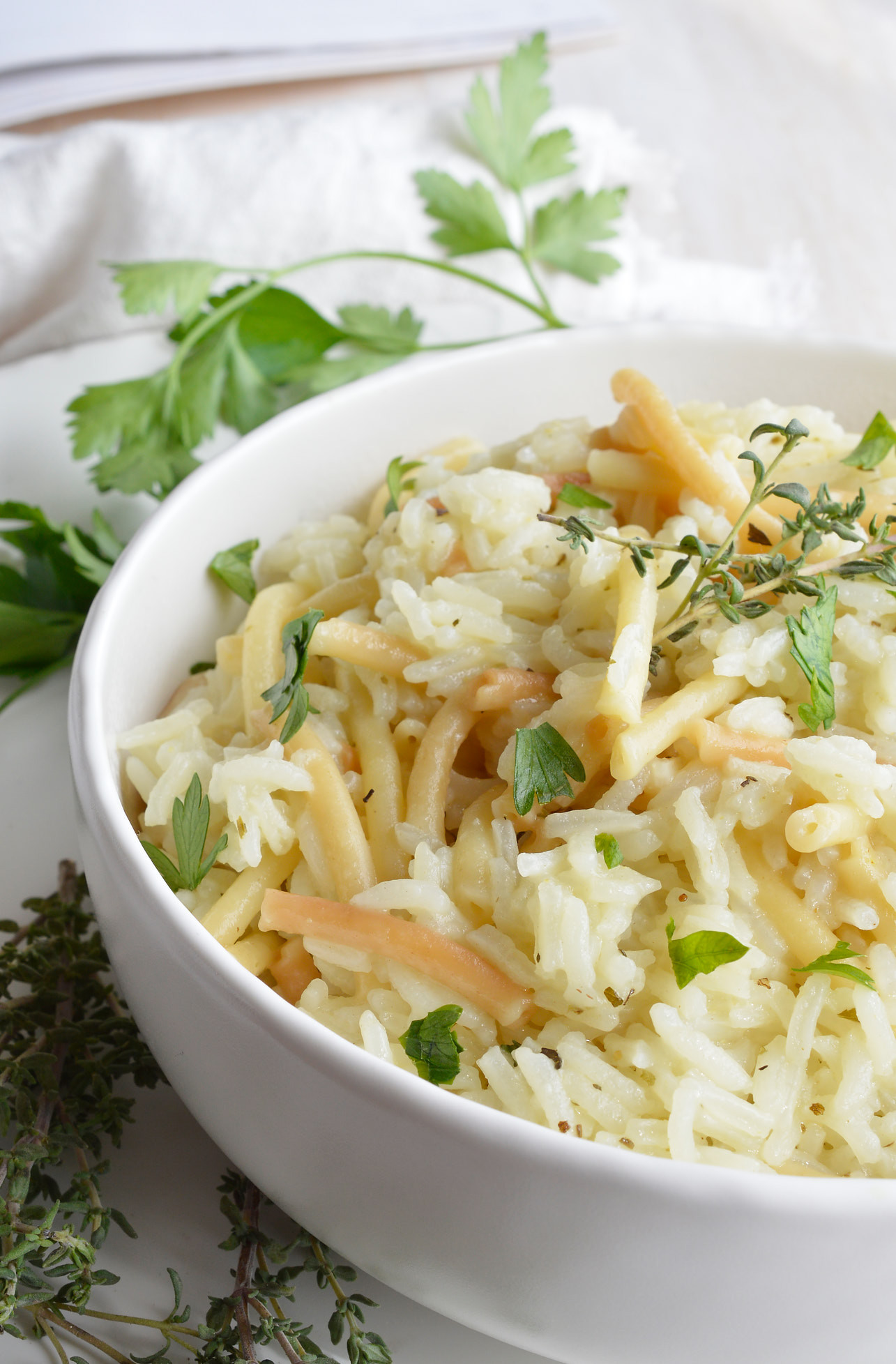 Easy Rice Pilaf  Easy rice pilaf recipes Food easy recipes