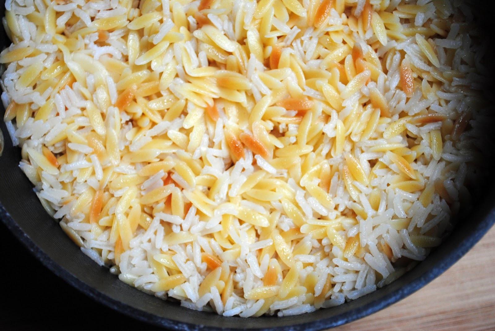 Easy Rice Pilaf  Simply Scratch Chicken Shawarma Marinade with Garlic