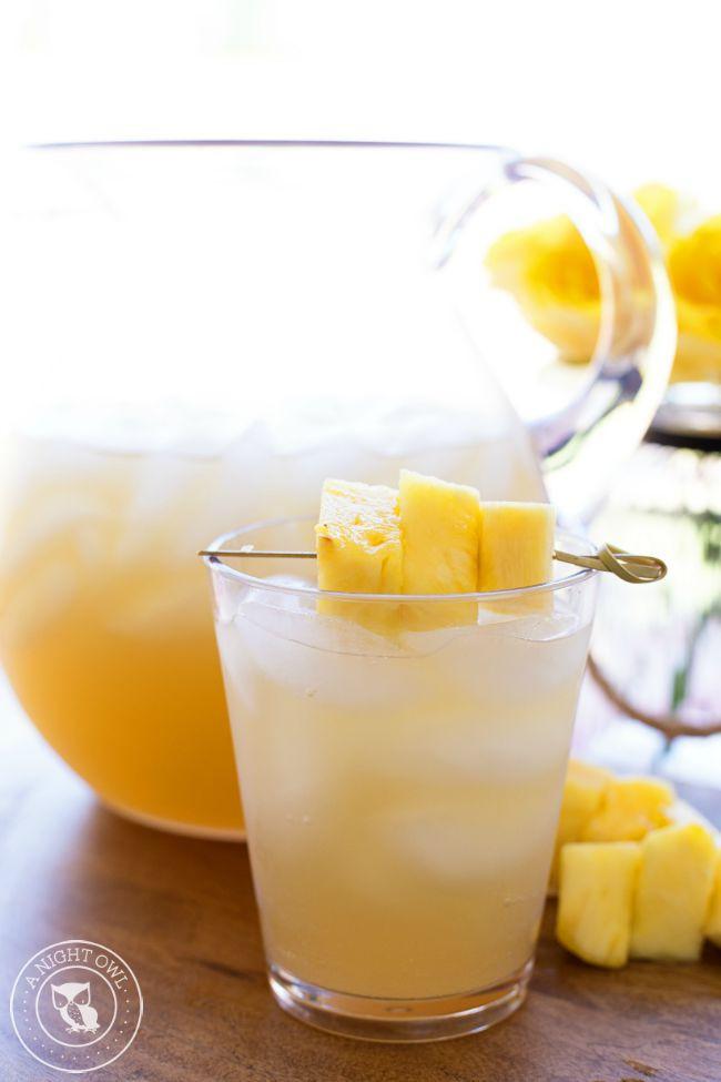 Easy Rum Drinks  Pineapple Rum Punch