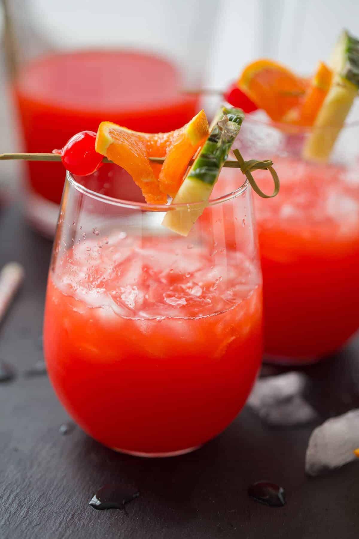 Easy Rum Drinks  Rum Punch Recipe LemonsforLulu
