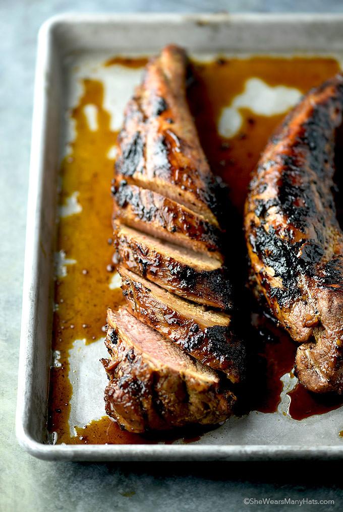 Easy Sauces For Pork Tenderloin  Honey Soy Glazed Pork Tenderloin Recipe